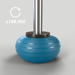 Durable Fitness Gym Ball Size 3 - 75 cm - Turquoise