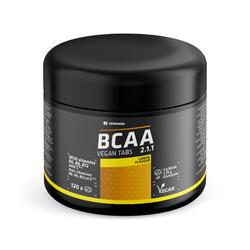 Compresse masticabili BCAA vegane 2.1.1 + glutammina gusto limone