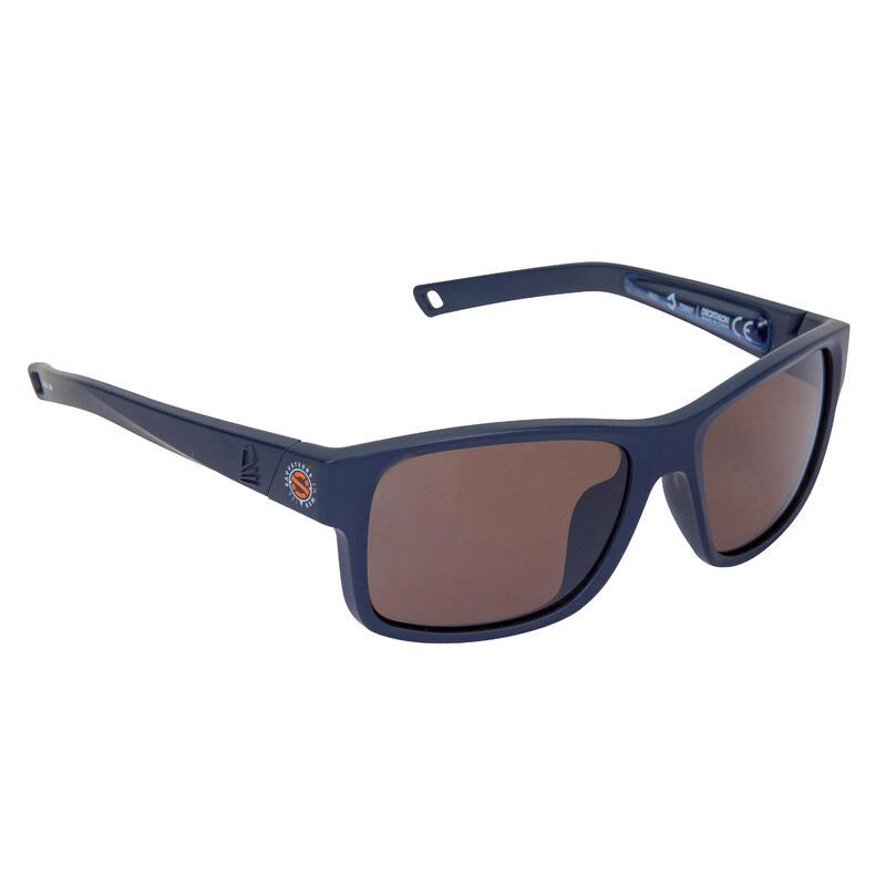 Gafas Sol Vela 100 SNSM Adulto Azul Polarizadas Flotantes Talla M