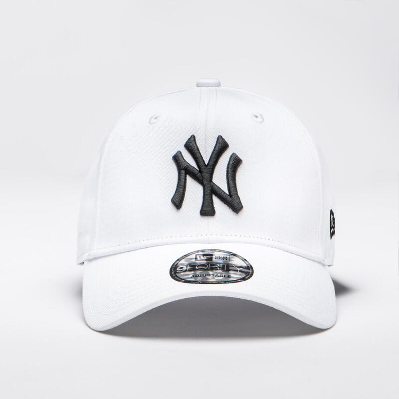 Şapcă Baseball 9Forty New York Yankees Alb Adulți