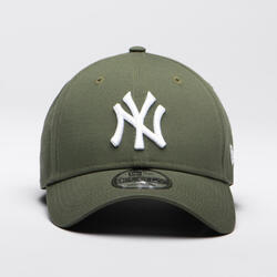 BONÉ DE BASEBOL MLB ADULTO NEW ERA 9FORTY NEW YORK YANKEES VERDE AZEITONA