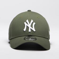 Baseballcap 9FORTY New York Yankees Erwachsene olivgrün