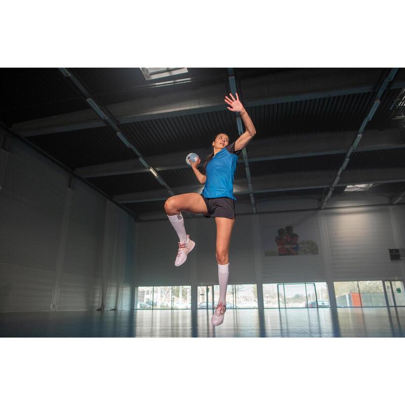 Maillot de handball H500 femme bleu / noir