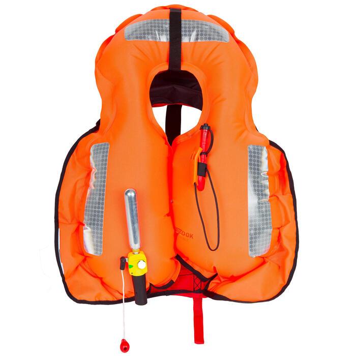 Colete Salva-vidas de Vela Insuflável LJ 150N AIR Adulto Vermelho