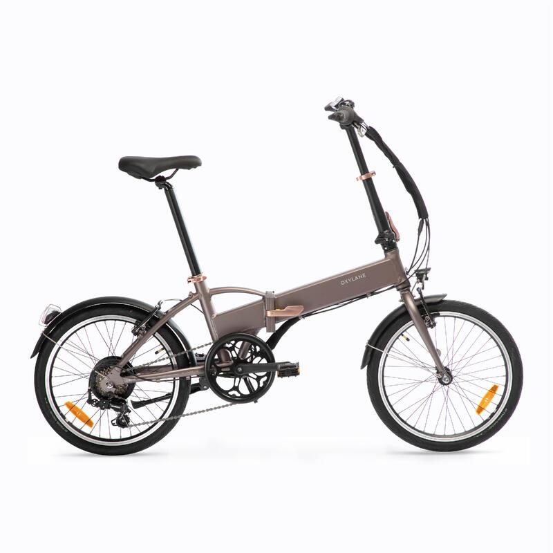 Electric Assistance Folding Bike Tilt 500 - Brown