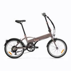 Bici pieghevole a pedalata assistita TILT 500 E grigia
