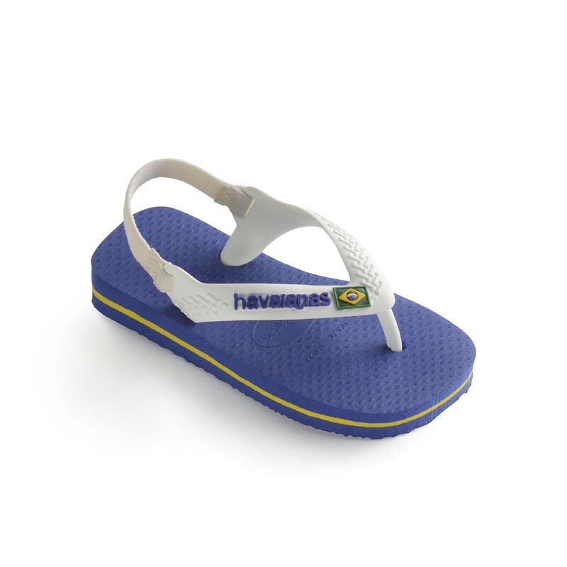 Tongs sandales HAVAIANAS Bébé bleues