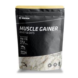 MUSCLE GAINER BAUNILHA WHEY & AVEIA 1,5 kg