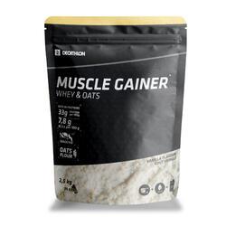 MUSCLE GAINER BAUNILHA WHEY & AVEIA 2,5 kg