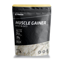 MUSCLE GAINER VANILLE WHEY & HAVER 2,5 KG