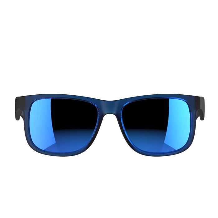 lunettes de soleil de marche sportive adulte WALKING 400 bleues catégorie 3 - 206984