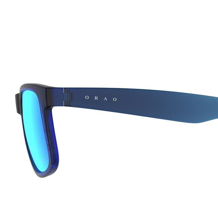 lunettes de soleil de marche sportive adulte WALKING 400 bleues catégorie 3 - 206985