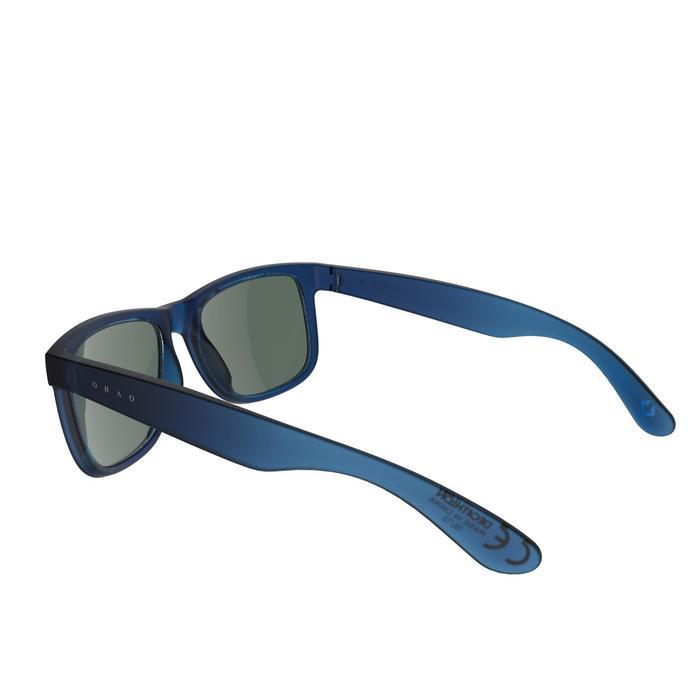 lunettes de soleil de marche sportive adulte WALKING 400 bleues catégorie 3 - 206987