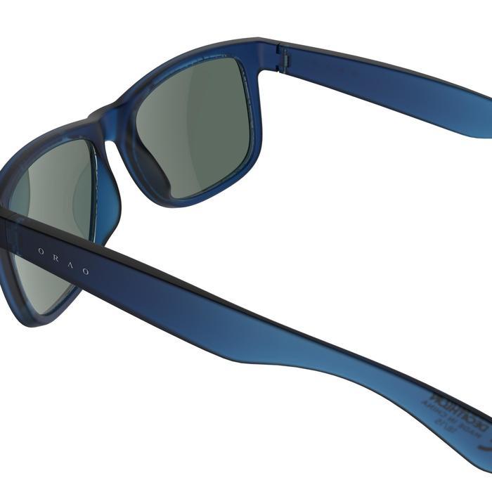 lunettes de soleil de marche sportive adulte WALKING 400 bleues catégorie 3 - 206989