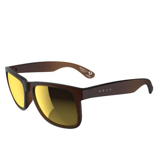Zonnebril Walking 400 voor sportief wandelen, blauw en transparant categorie 3 - 206991