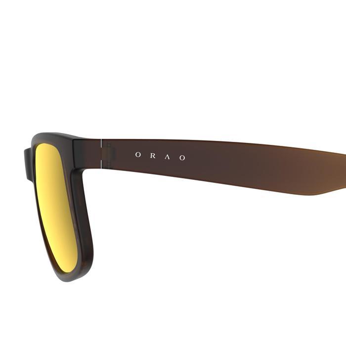 Lunettes de soleil de marche sportive WALKING 400 marron polarisants catégorie 3 - 206993