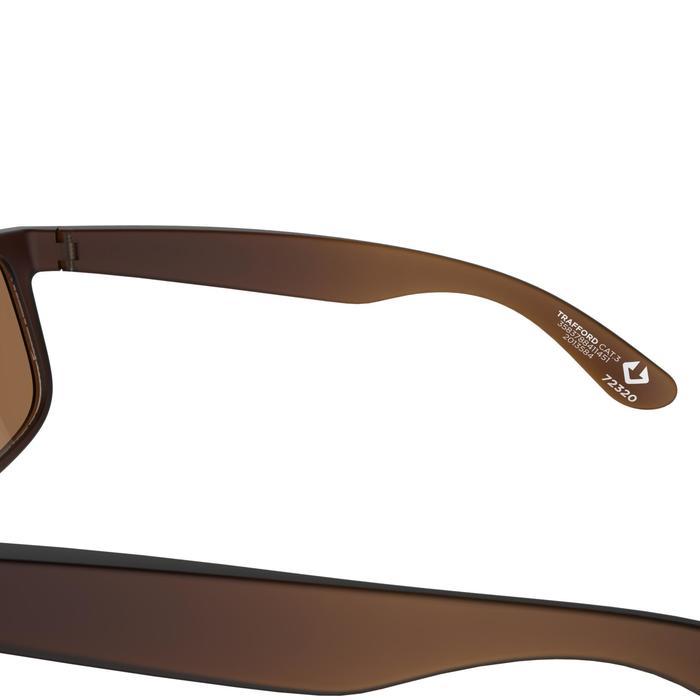 Lunettes de soleil de marche sportive WALKING 400 marron polarisants catégorie 3 - 206996