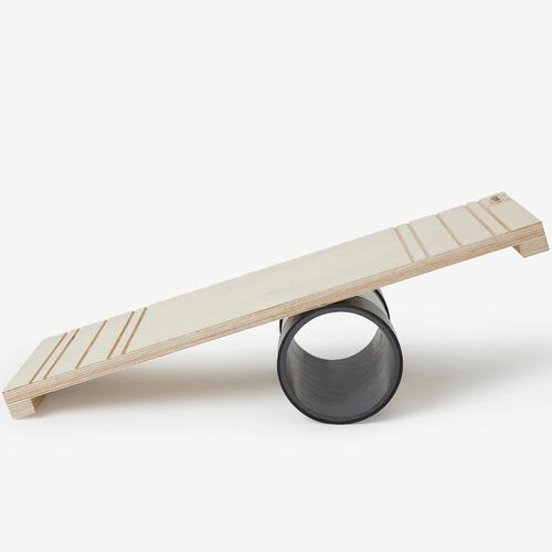 Rolla bolla : planche et rouleau d'équilibre