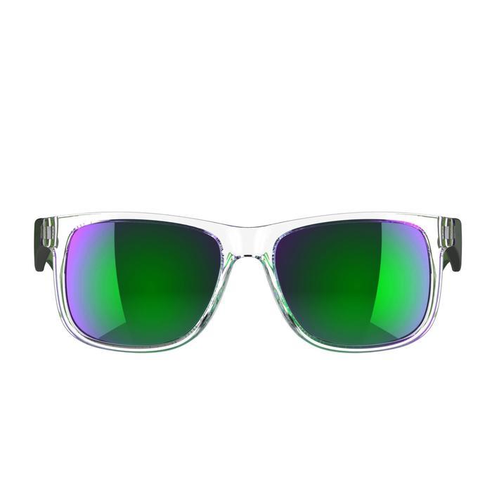 lunettes de soleil de marche sportive adulte WALKING 400 bleues catégorie 3 - 207009