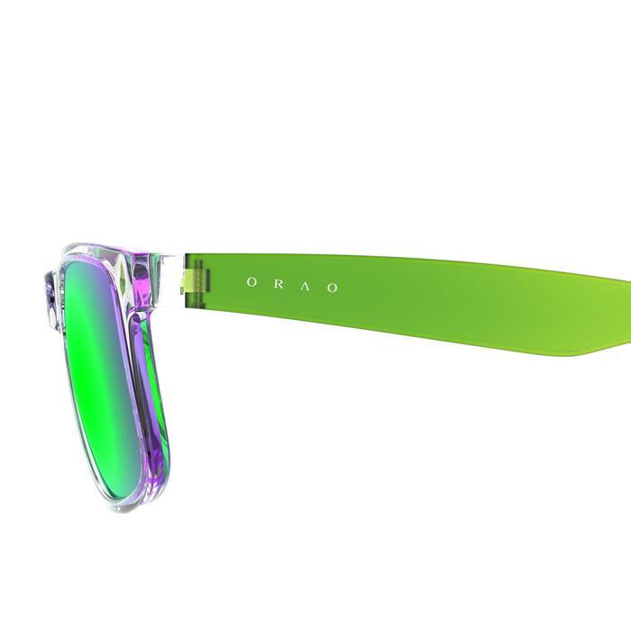 lunettes de soleil de marche sportive adulte WALKING 400 bleues catégorie 3 - 207010