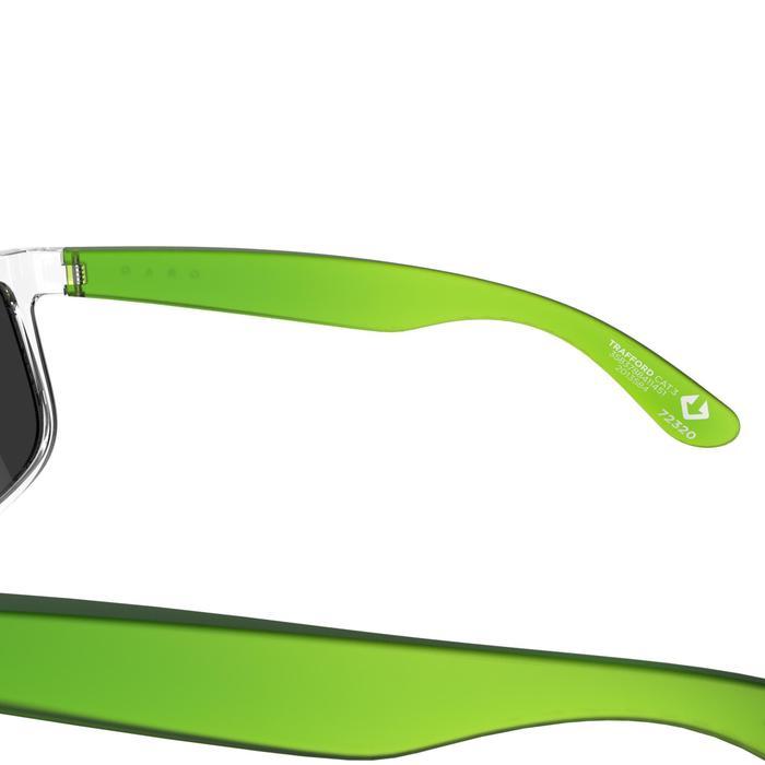 lunettes de soleil de marche sportive adulte WALKING 400 bleues catégorie 3 - 207013