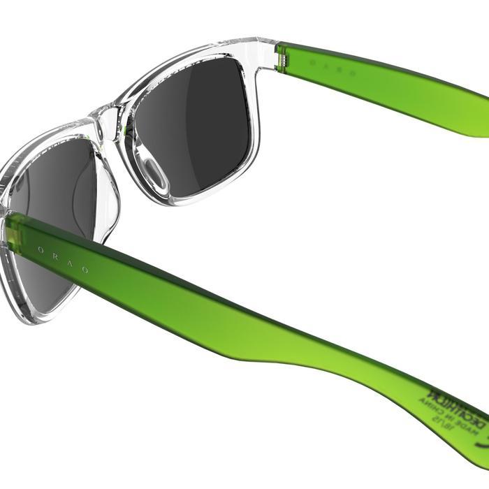 lunettes de soleil de marche sportive adulte WALKING 400 bleues catégorie 3 - 207014