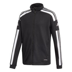 Trainingsjacke Fussball Adidas RDS Kinder schwarz