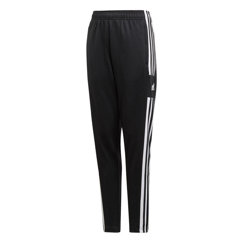 Pantaloni tuta calcio adulto SQUADRA neri