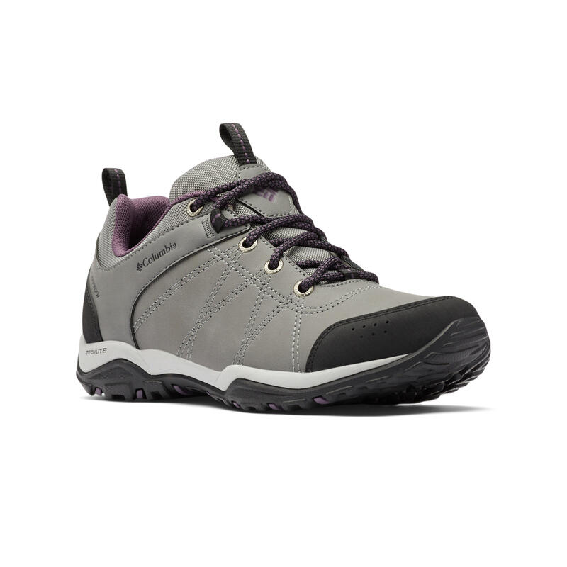 Women's waterproof leather hiking boots - Columbia Fire Venture