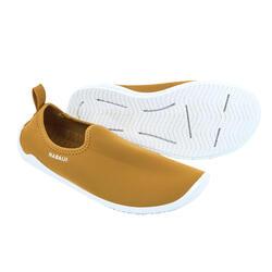 Calçado de Hidroginástica, Aquabike e Aquafitness Gymshoe Mostarda