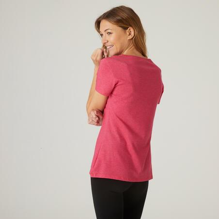 500 regular fitness t-shirt – Women