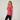 Women's Cotton Gym T-Shirt Regular-Fit 500 - Mottled Pink