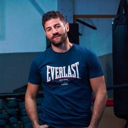 Boksshirt voor heren Everlast Flag blauw