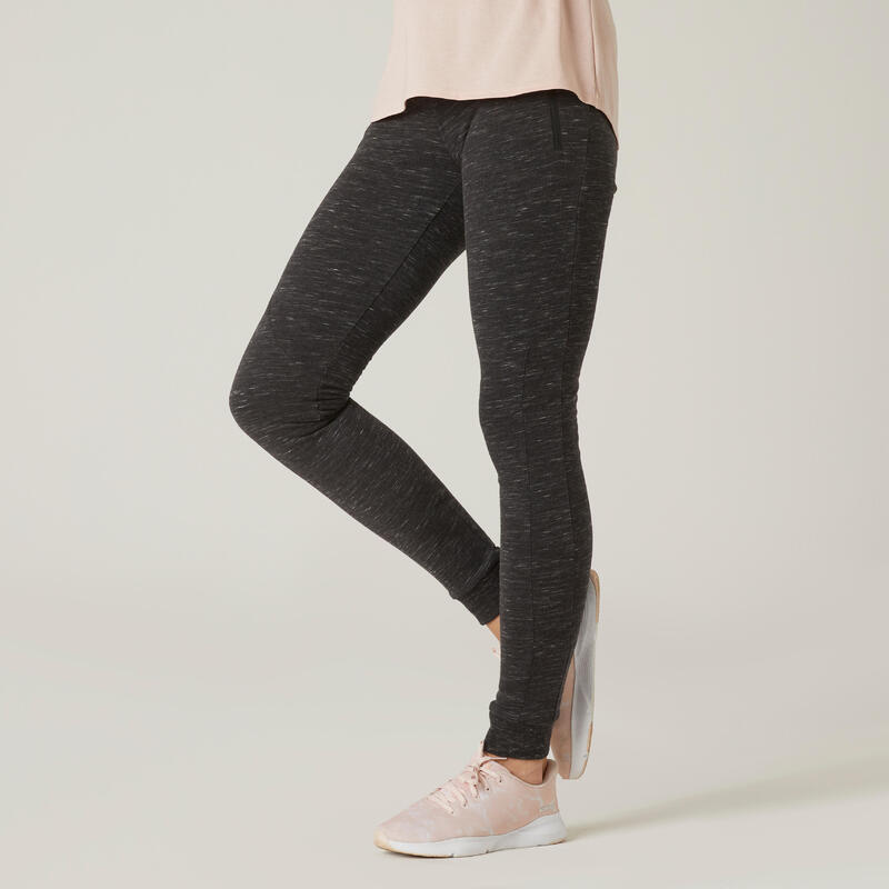Women Printed Cotton blend tights