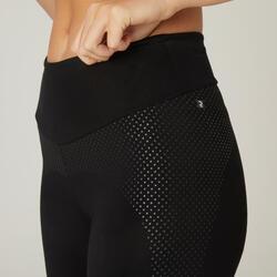 Legging Coton Fitness Galbant Noir