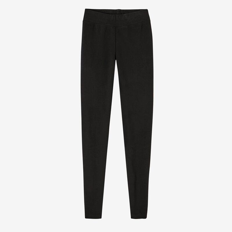 Fitness Cotton Leggings Fit+ - Black