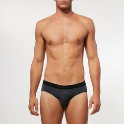 Slip Running Hombre Transpirable Gris oscuro