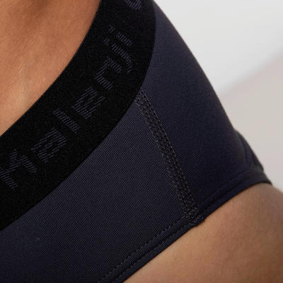 Men's Breathable Running Briefs - Dark Grey