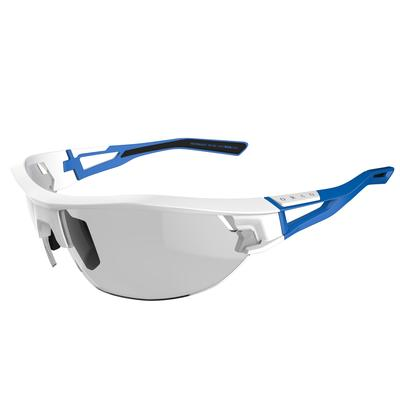 MOAB adult cycling & running sunglasses photochromic - white & blue