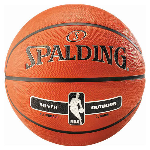 SPALDING NBA SILVER OUTDOOR TAILLE 7