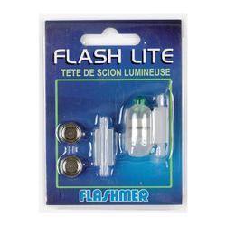 Topeinde Flash Lite groen zeehengelen