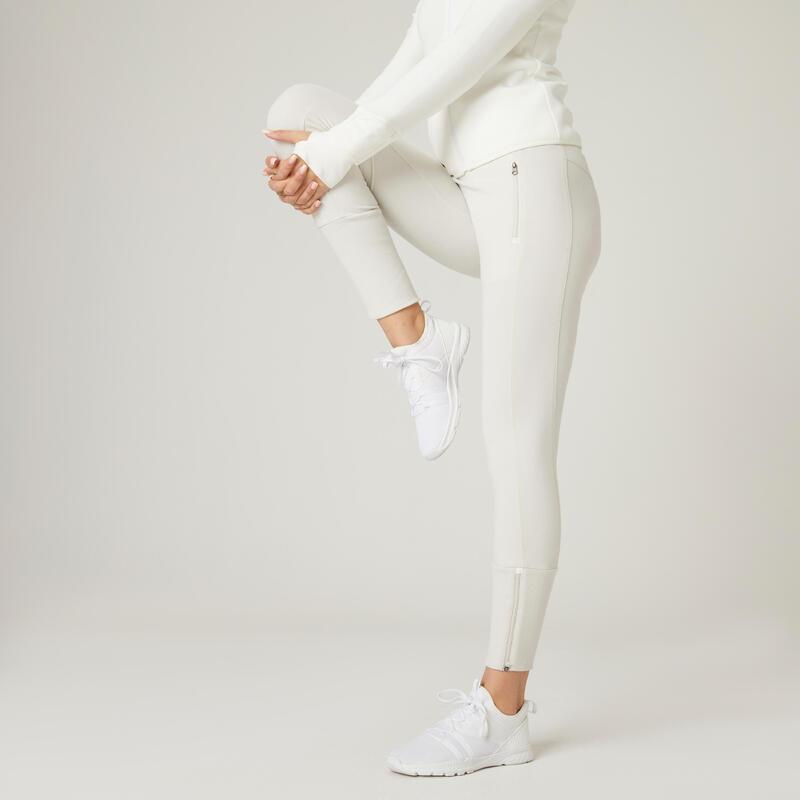 Pantalon slim fitness 520 Bej Damă
