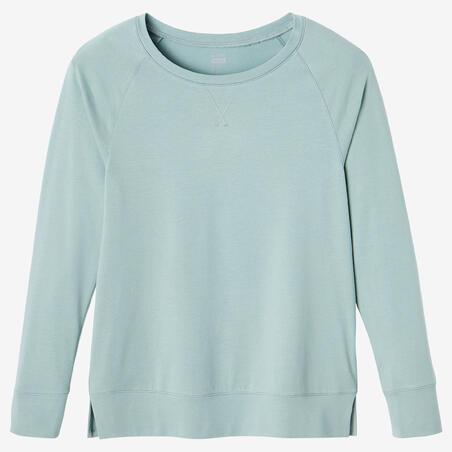 T-shirt d'entraînement manches longues 500– Femmes