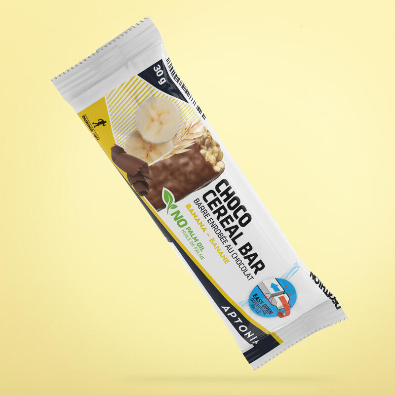 Barretta ai cereali ricoperta di cioccolato banana 30 g