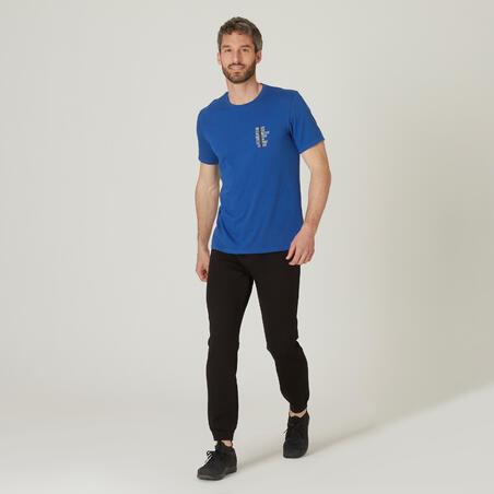 500 stretchy fitness T-shirt — Men