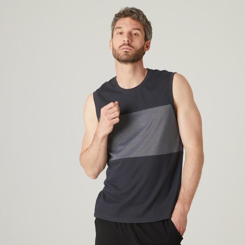 Men's Sports Tank Top - Dark Grey