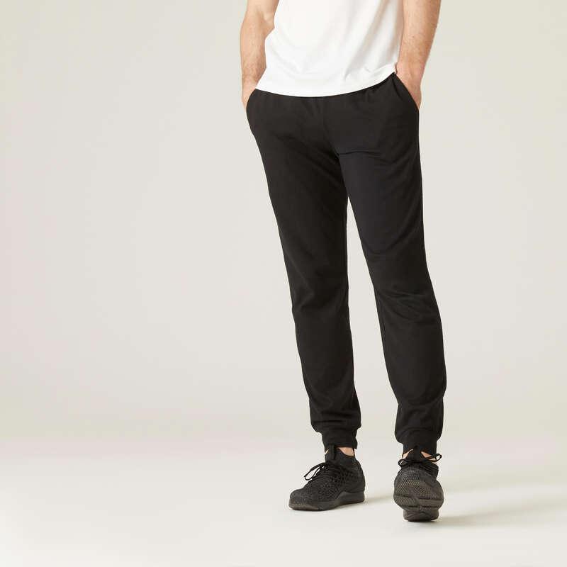 ÎMBRĂCĂMINTE VREME RECE TONIFIERE, PILATES BĂRBAȚI Produse mărimi mari Bărbați - Pantalon regular 120 bărbați NYAMBA - BARBATI