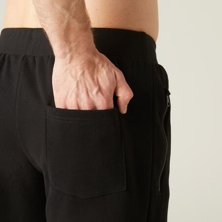 """Vīriešu džoginga bikses """"500"""", melnas"""