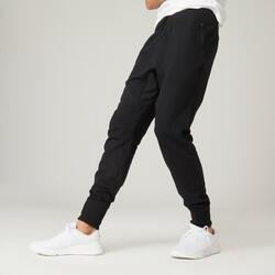 Pantaloni skinny uomo fitness 500 neri