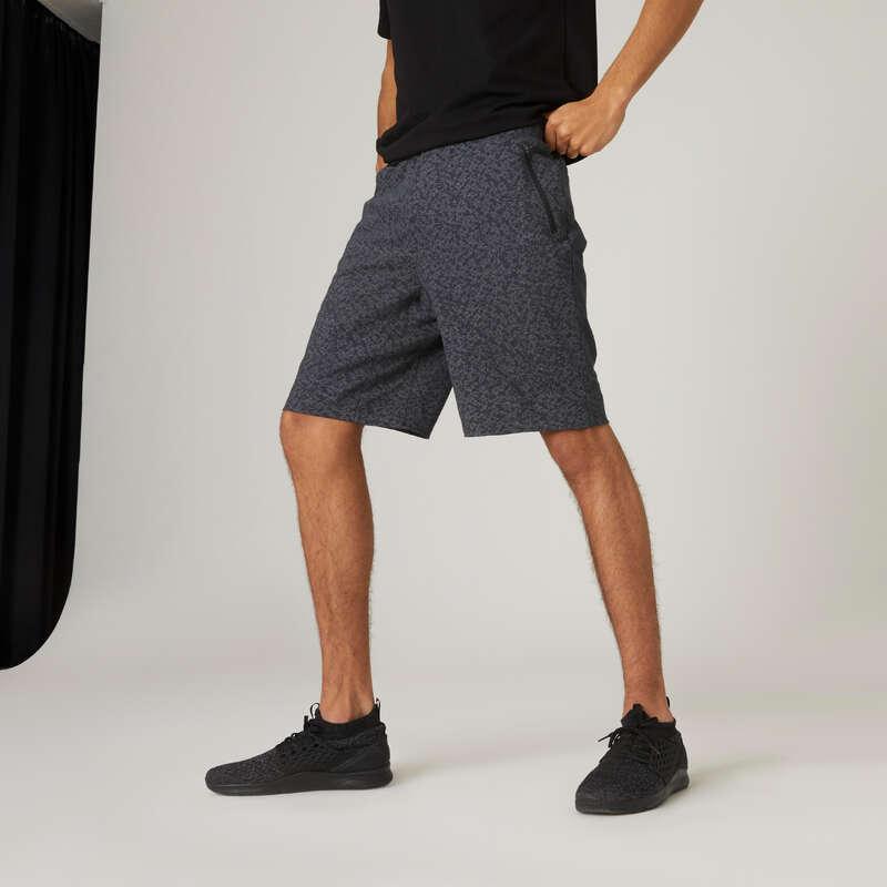 FÉRFI PÓLÓ, RÖVIDNADRÁG Fitnesz - Férfi rövidnadrág 520-as NYAMBA - Fitnesz ruházat és cipő